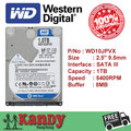 Western Digital WD Azul 1 TB hdd 2.5 SATA disco duro sabit laptop interno hard disk drive hd notebook disco rígido interno disque