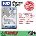 Western Digital WD Azul 1 TB hdd 2.5 SATA disco duro sabit portátil interna unidad de disco duro interno hd disco duro portátil disque