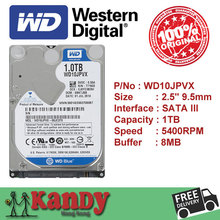 Western Digital WD Bleu 1 TB hdd 2.5 SATA disco duro ordinateur portable interne sabit disque dur interno hd disque dur portable disque