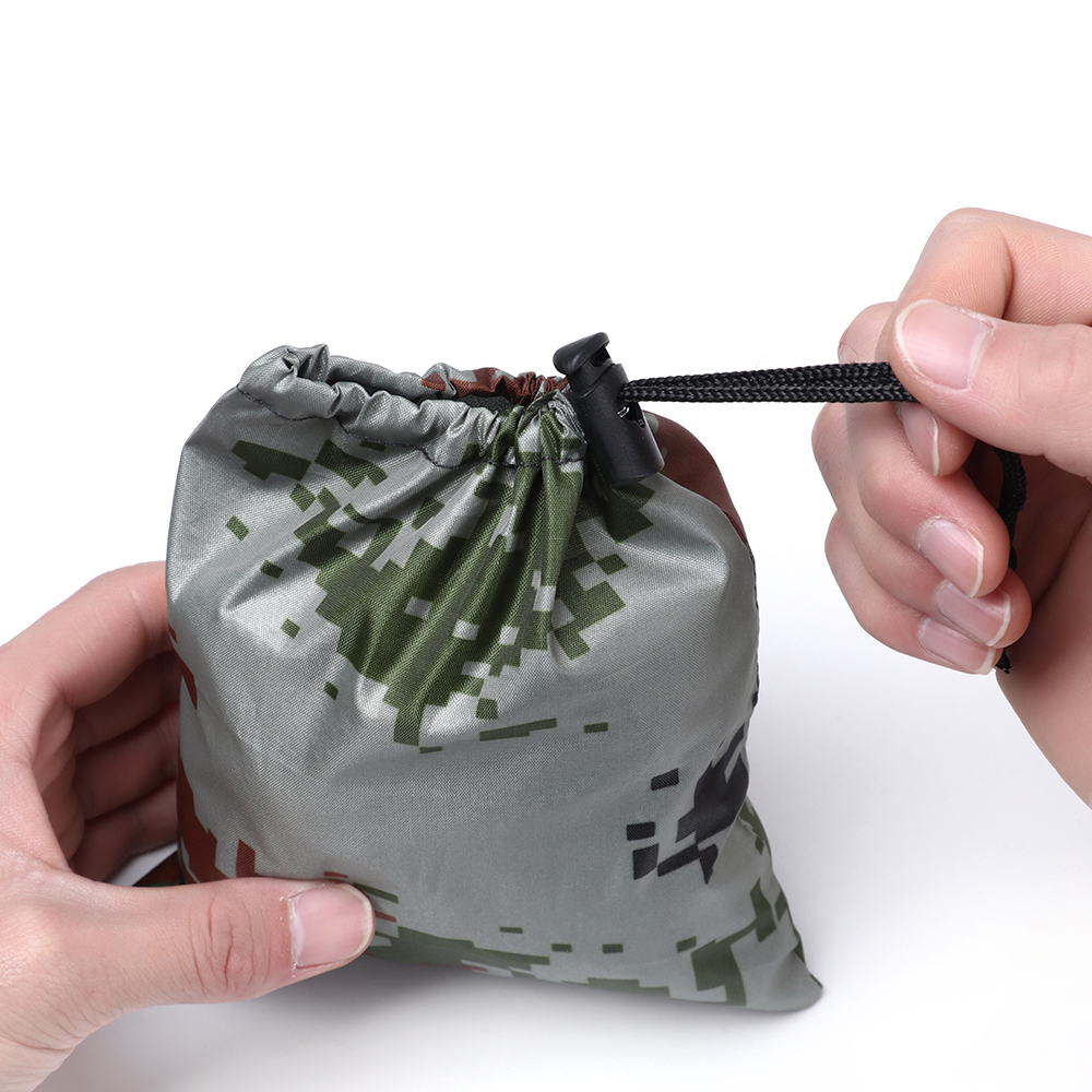 1PC Multicolor Waterproof Travel Bag Organizer Backpack Rain Cover Portable Anti-tear Dust Proof Anti-UV Camouflage Fits 20-80L