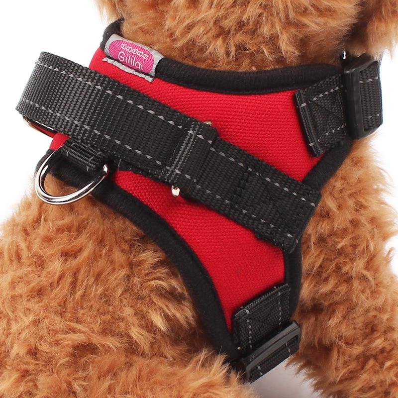 2019 тяжелых седло стиль собака жгут для средних и больших товары собак Регулируемый мягкий жилет Прогулки Pet Поводок пособия по немецк купить на AliExpress
