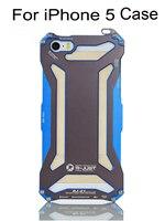 2015 newest fashion design gift Blue Pink Orange Green frame metal aluminum case for iphone 5 5s SE