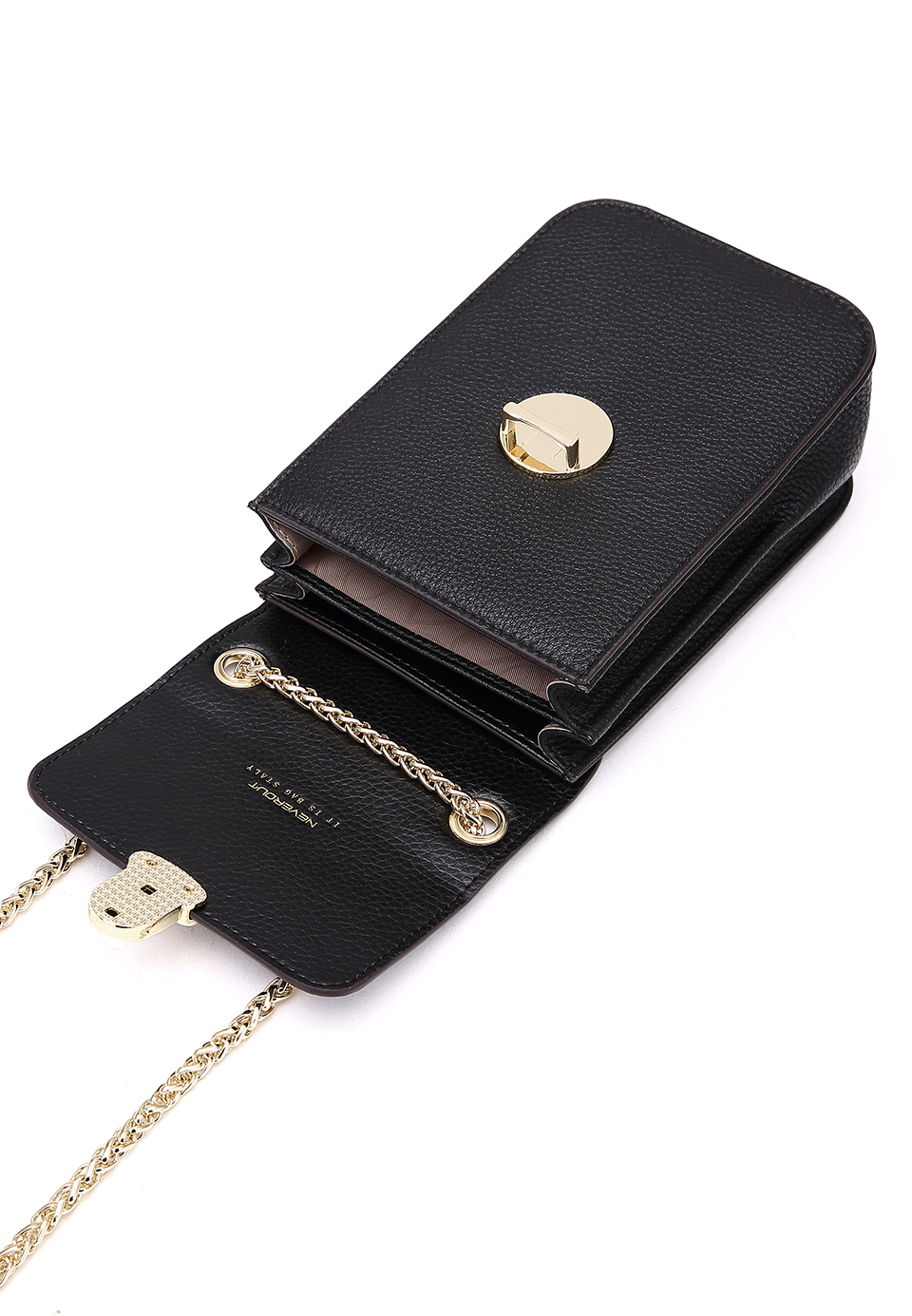 NEVEROUT Genuine Leather Mini Fashion Phone Bags Solid Shoulder Sac a Main Small Flap Bag Crossbody Purse Messenger Bag cases