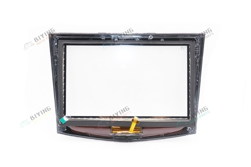 New Factory touch screen use for Cadillac ATS CTS SRX XTS CUE car DVD GPS navigation Cadillac touch display digitizer in Fascias from Automobiles Motorcycles