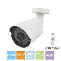 CCTV Camera With OSD Cable CMOS 1MP 1 3MP 2MP AHD Camera 720P 960P 1080P Outdoor
