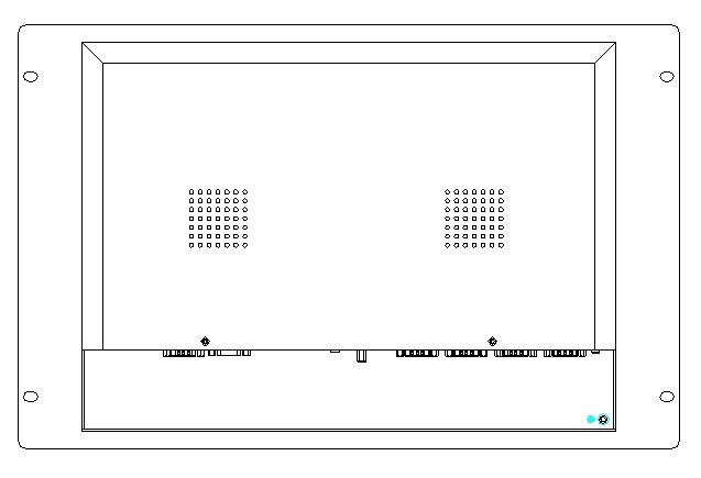 15 tommer rackmonteret industriel panel-pc, J1900 CPU, 4 GB DDR3.500 - Industrielle computere og tilbehør - Foto 5