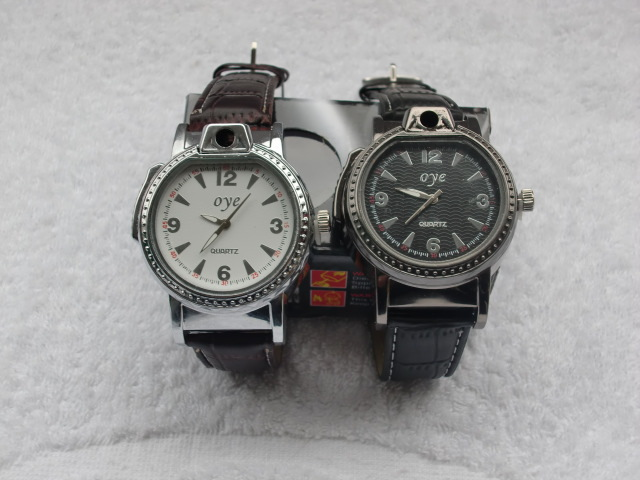 Wrist watch, with the function of lighters, individuality creative lighters, Christmas gifts.