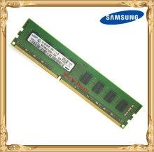 Samsung escritorio memoria original DDR3 4GB 1600MHz 4G PC3-12800U PC RAM 1600 de 12800