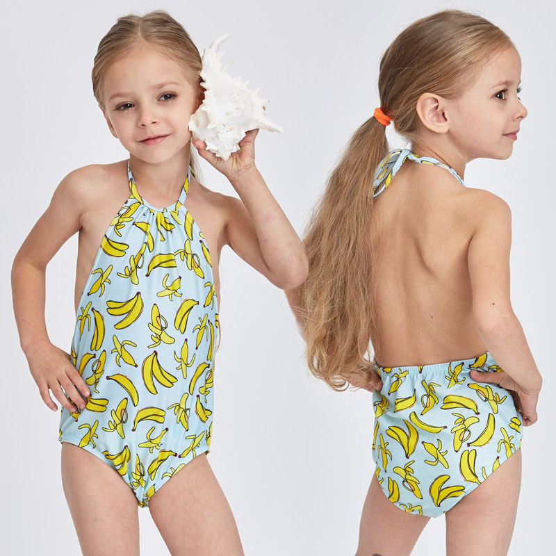 Cute One Piece Swimsuit For Girls Children Swimwear Friuts Strawberry Banana Printing Bathing Suit Baby Bikinis Kids Swim Suits forudesigns one piece swimsuit for girls children swimwear friuts strawberry printing bathing suit baby bikinis kids swim suits