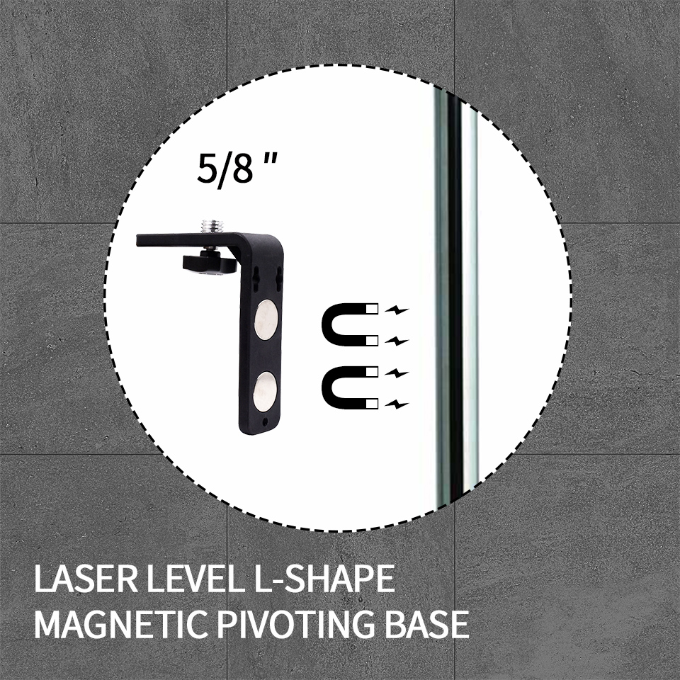 5//8/'/'  Level Universal L-Bracket Super Strong Iron Magnet Adsorption Stand