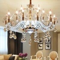 Araña de cristal LED deco hogar iluminación habitación colgando luces suspensión moderna luminaria dormitorio lámpara de suspensión