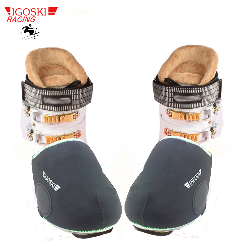 IGOSKI Ski And Snowboard Waterproof Warm Shoe Covers Snow Boots Covers Protector