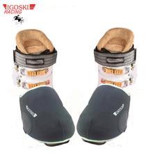 Igoski botas de neve, cobertura à prova d' água para sapatos e neve, para snowboard e esqui