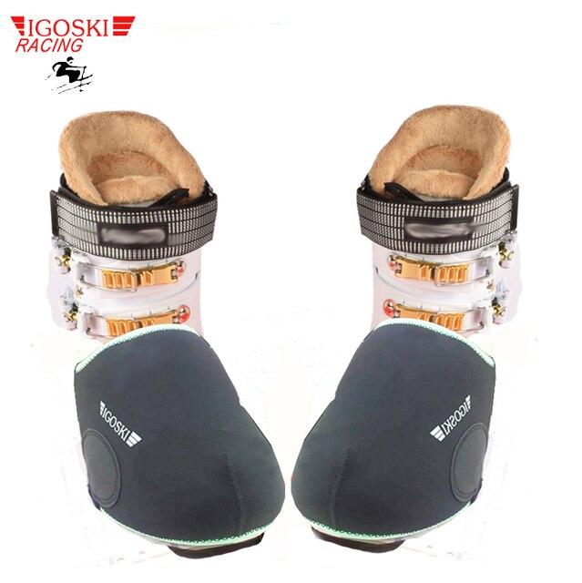 IGOSKI лыжные и сноубордические водонепроницаемые теплые бахилы зимние Чехлы для обуви протектор