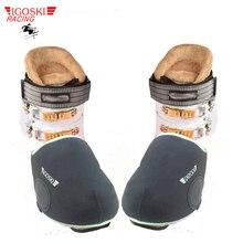 Igoski botas de neve, cobertura à prova d água para sapatos e neve, para snowboard e esqui