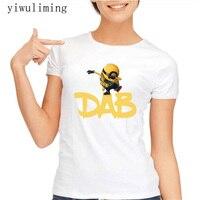 New Dab Unicorn Print T Shirt Women Short Sleeve O Neck Tops Casual Female Ladies Tee