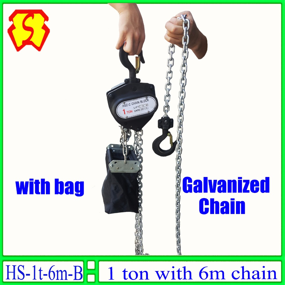 1 Ton 6 Meters Hand Chain Block Manual Hoist With Galvanized Cm Wiring Diagram Lift Dj Trussing Truss In Lights Lifters From Lighting On