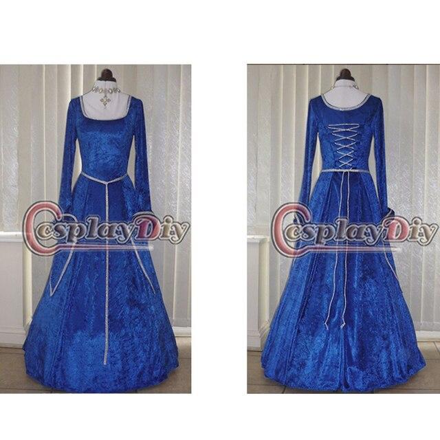 Custom Made Royal Blue Wedding Dresses