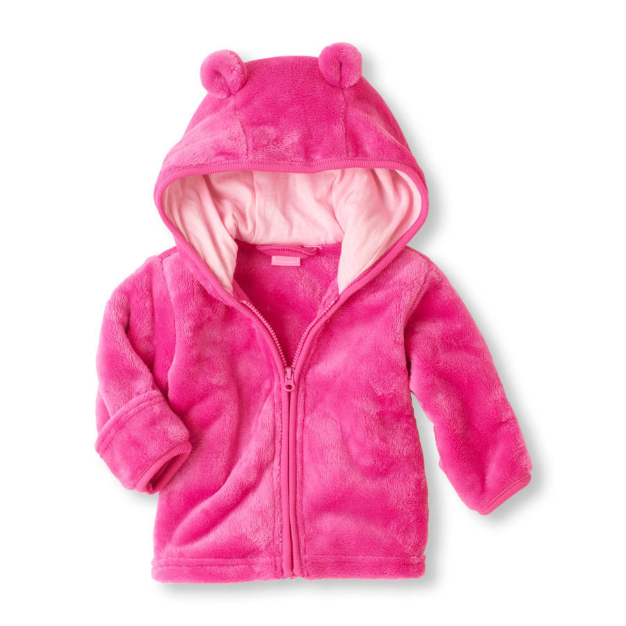 Toddler Warm Outwear Soft and comfortable Coral fleece Kids Baby Boys Girls Clothes Zipper Tops Coat Jackets 2019 in Jackets Coats from Mother Kids