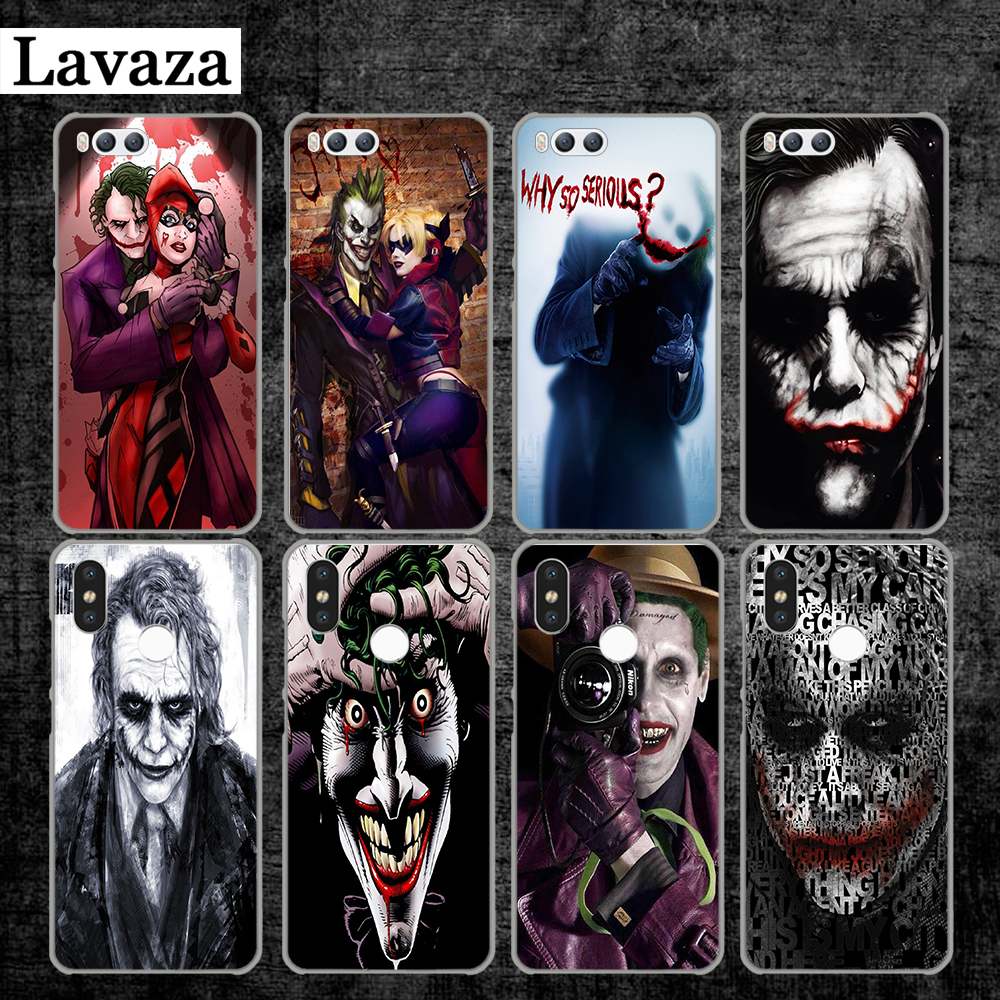 Lavaza Joker Batman The Killing Joke Hard Case for Xiaomi MI 5 5S 6 8 9 SE Lite F1 A1 A2 5X 6X Mix 2S MAX 3