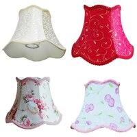Pirinç Beyaz Soyut Desen E27 Masa Lambası Gölge, tekstil Kumaşlar, basit Ve Şık, yüksek 18.5 cm Ve Çapı 25 cm