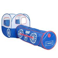 Baby Train Tents Kids Crawling Tunnel Play Tent House Boys Outdoor Ball Pit Pool Tent Toys Ocean Ball Holder Set Children Gifts