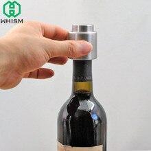 Whism botella de vino rojo de acero inoxidable Tapones vacío sellado tapón a prueba de fugas botella de metal Tapones bar Herramientas Cocina gadget