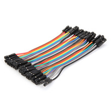 Hot 40Pcs 10cm Female To Female Jumper Wire Cable For Arduino For font b RC b