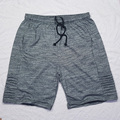 Бесплатная доставка плюс размер летние свободные короткие пляжные брюки эластичный ремешок серый цвет длиной до колен хлопок шорты 2xl-7xl
