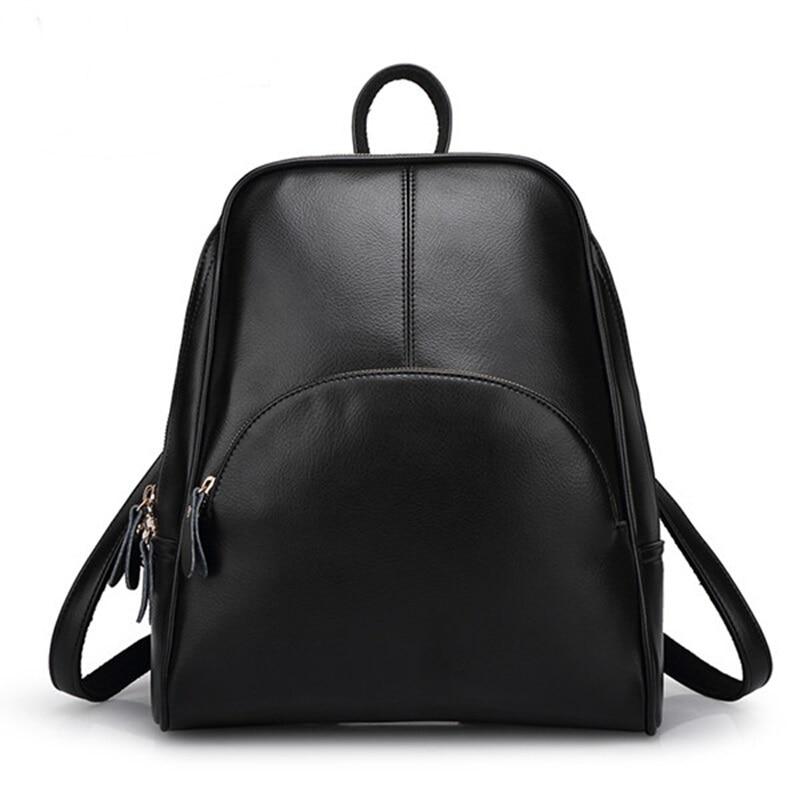 Panta shpine lëkure, çanta të rrumbullakëta të stilit të - Çantë e shpinës - Foto 1