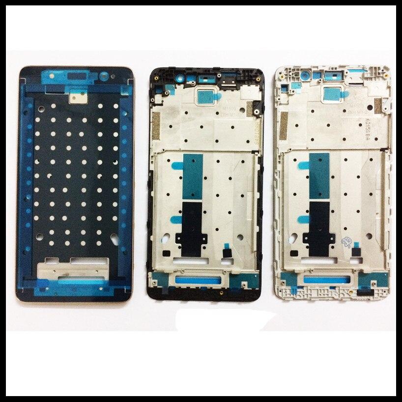 Noir Blanc Or D'origine Avant LCD Logement Moyen Façade Cadre Lunette pour Redmi Note 3 & Redmi Note 3 Pro Pièces De Rechange