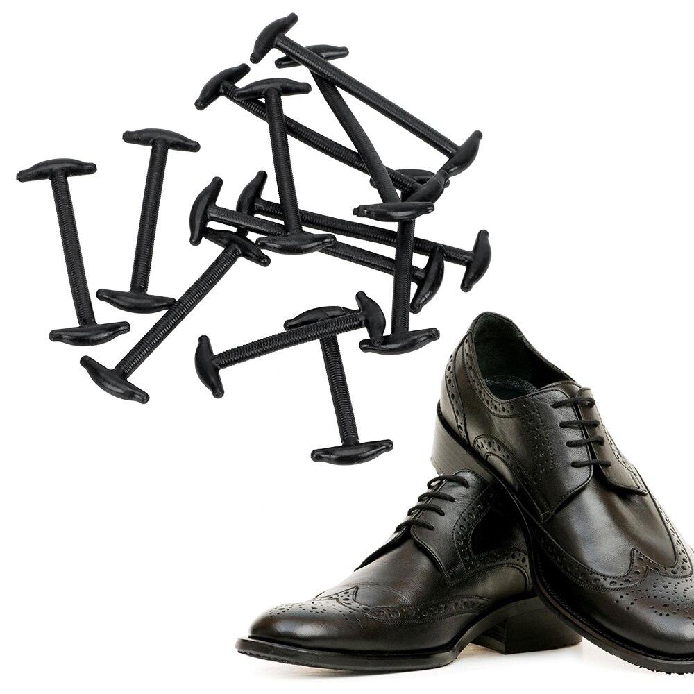 Креативная многофункциональная эластичная обувь; кожаные туфли на шнурках; эластичные силиконовые шнурки; 12 шт./компл.; модные силиконовые шнурки