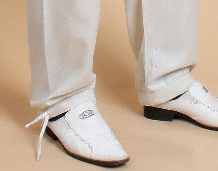 Beige Chinese Men's Linen Kung Fu Pants Size S M L XL XXL XXXL Free Shipping 0820-3