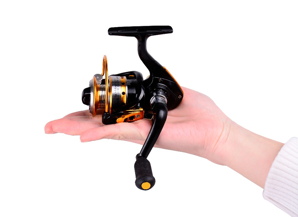 HiUmi Mini Spinning Fishing Reel 10BB 5.2:1 ultra-light High-strength Ice Fishing Wheel hiumi mini spinning fishing reel 10bb 5 2 1 ultra light high strength ice fishing wheel