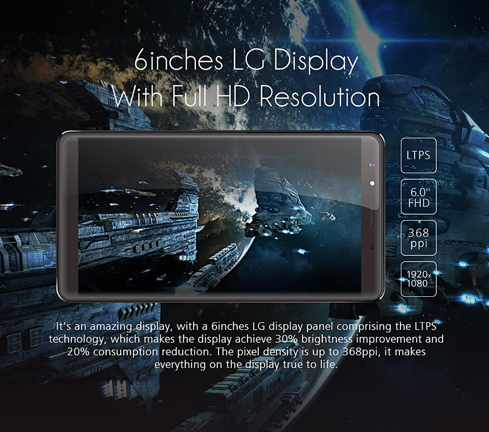 Original Leagoo Shark 1 4g Smartphone 60 Fhd Android 51 3gb Ram Lg K10 Power Lte 55ampquot 2 16gb 13 5mp 6 11 10