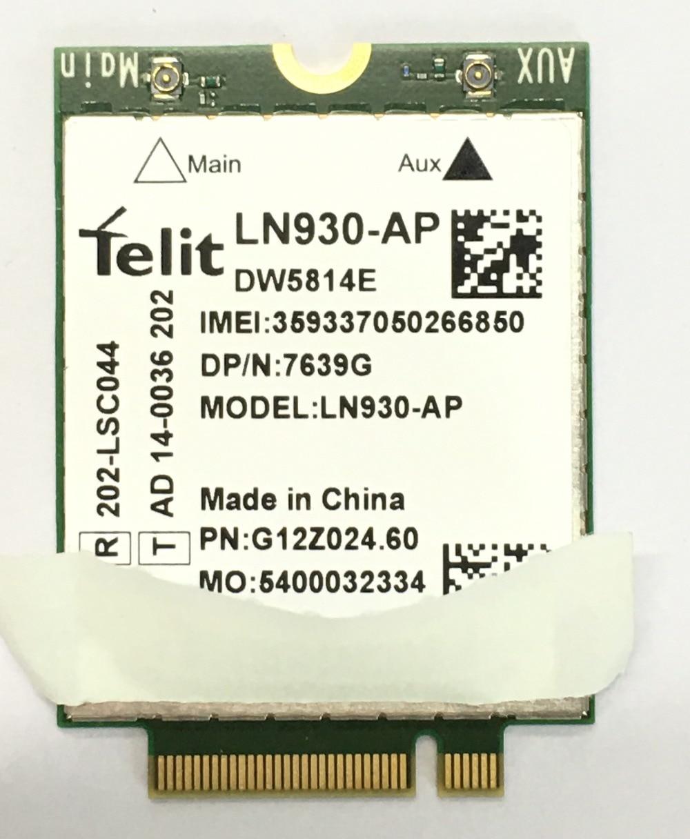 все цены на Telit Ln930 LN930-AP Nrr39 Ngff Card For Dell Wireless Wifi Dw5810e Dw5814e Venue 11 Pro 4g/lte/dc-hspa+ Wwan 4g Network Card