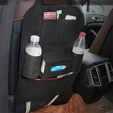New Car Auto Seat Back Multi-Pocket Storage Bag Organizer Holder Hanger Black mar7 Extraordinary