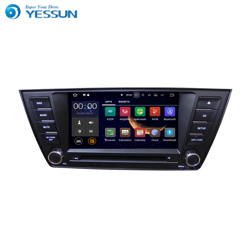 YESSUN For VW For Skoda Superb 2015~2016 Android Car GPS Navigation DVD player Multimedia Audio Video Radio Multi-Touch Screen yessun for mazda cx 5 2017 2018 android car navigation gps hd touch screen audio video radio stereo multimedia player no cd dvd