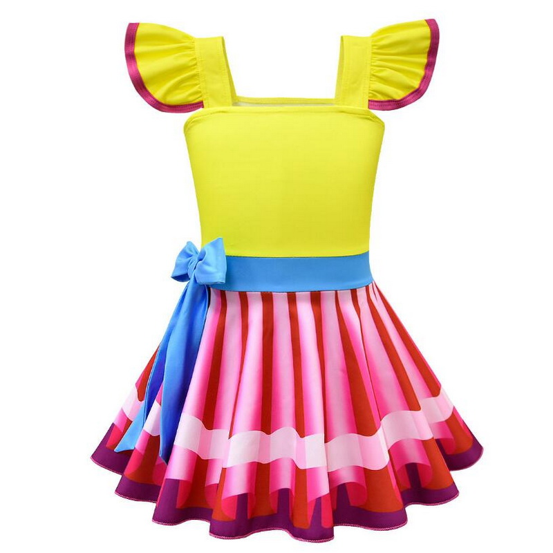 Christmas Dress With Wings For Kids Fancy Party Dresses Halloween Nancy Cosplay Costume Infant Toddler Ballet TUTU Dress 2 8 Yr in Girls Costumes from Novelty Special Use