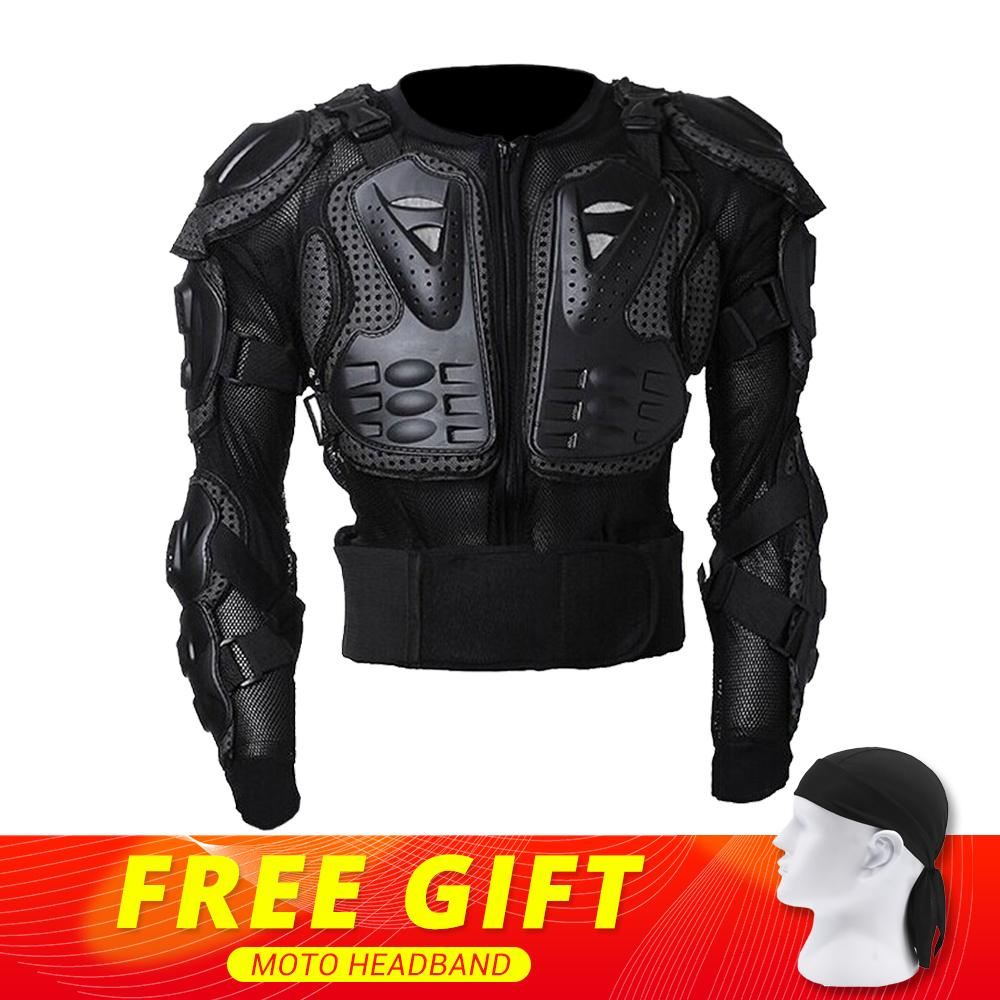 цена на New Motorcycle Jacket Moto Body Armor Protection Motorcycle Armor Back Protector Motocross Off-Road Spine Chest Brace Gear Guard
