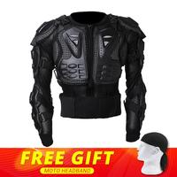 New Motorcycle Jacket Moto Body Armor Protection Motorcycle Armor Back Protector Motocross Off Road Spine Chest Brace Gear Guard