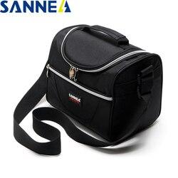 SANNE 5L термо сумка для обеда водонепроницаемая сумка-холодильник Изолированная коробка для обеда термо сумка для обеда для детей сумка для п...