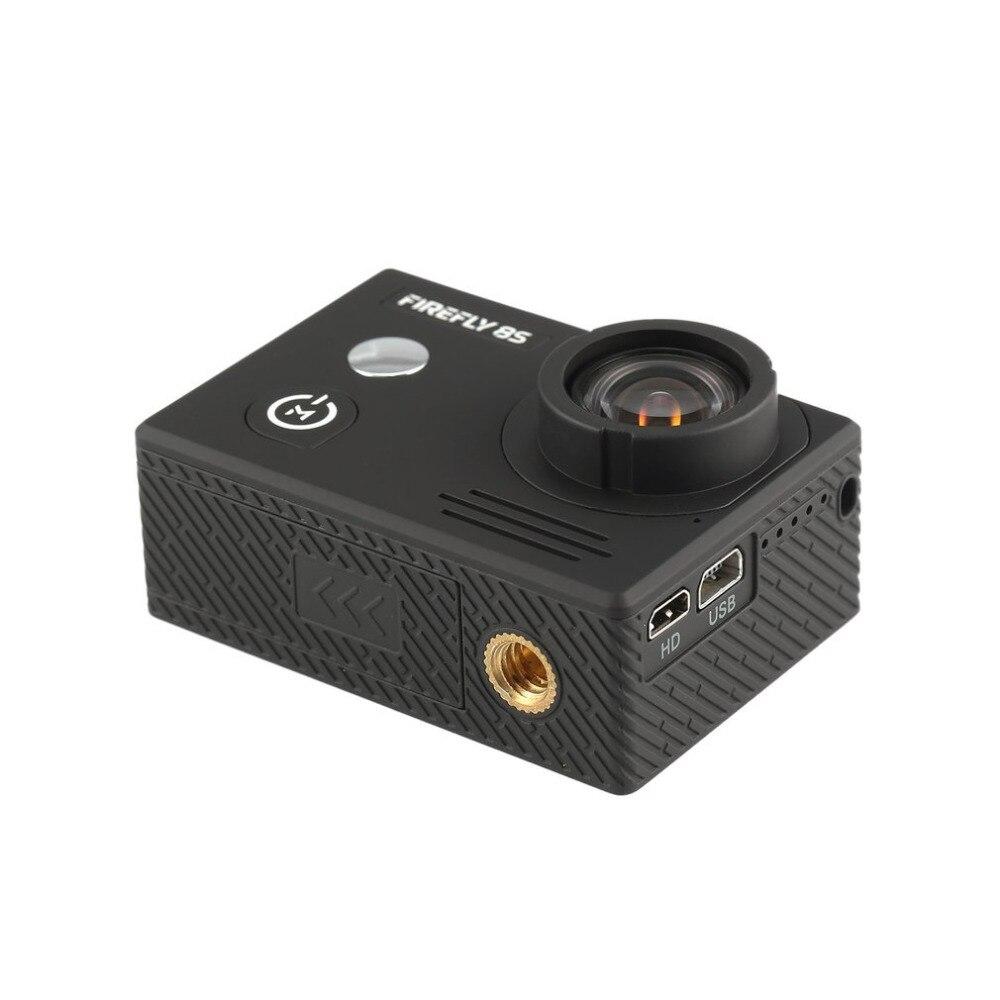Hawkeye luciole étanche 8 S 4 K 30fps pas de distorsion Bluetooth Wifi HD Action sport caméra caméra à 90 degrés FOV pour Drone FPV RC