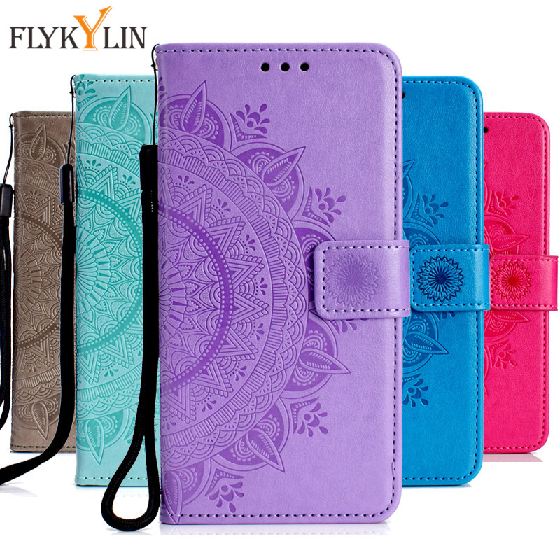 A7 2018 Leather Case On For Samsung Galaxy A7 2018 A750 Cover Sfor Coque Samsung Sm-a750f Covers Wallet Flip Stand Phone Cases Soft And Light