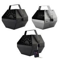 Mini Portable Auto Bubble Machine with Remote Control Electric Bubble Machine for DJ Bar Party Show Stage Wedding Decor Kid Gift