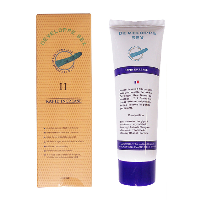 Lubricant gel for male