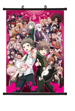 Danganronpa Dangan Ronpa wall poster scroll home decor Anime 40x60cm цена
