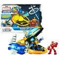 NEW hot Iron Man Super Hero Wolverine Brinquedos action figure toys presente Legal de Natal boneca