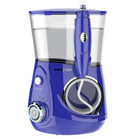 LK122 Electric Dental Flosser Oral Irrigator 700ml Water Jet Oral Hygiene for Teeth Whitening 12 Setting Pressure Teeth Cleaner