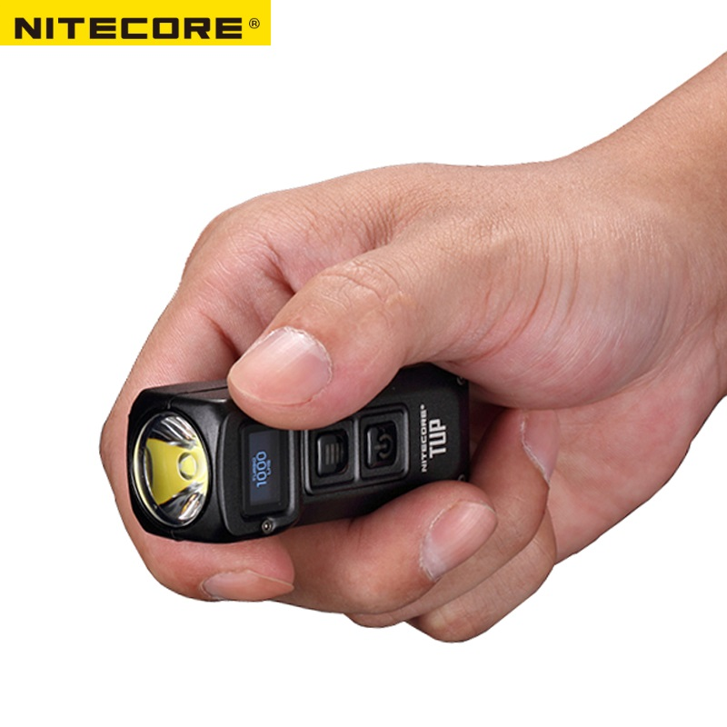 Image 5 - NITECORE TUP USB Rechargeable MINI Flashlight CREE XP L HD V6 max 1000 LM beam distance 180M Revolutionary Intelligent EDC Torch-in Portable Lighting Accessories from Lights & Lighting